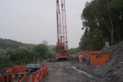 Revetment works on the North Bank of The Severn, Iron Bridge