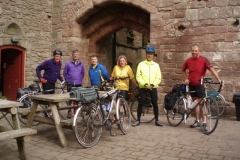 Roger, Kevin, Bob, Sheila, Bob and a chap doing The End to End