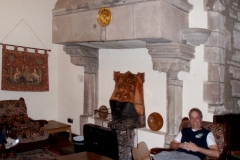 The common room at St. Briavels