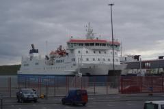 The overnight ferry to Lerwick