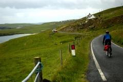 Heading back north through Scousburgh