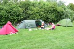 Camping at Standlake