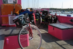 'Little pink' Hamble ferry