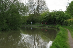 Oxford Canal by Brownsover Mill