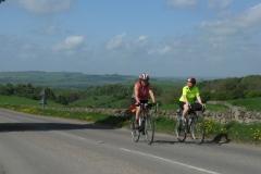Cath and Ann near Longcliffe