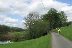 Ann by River Dove, near Hartington