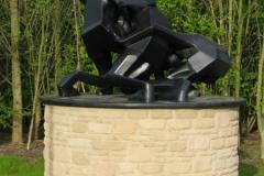 Memorial to Asbourne's Royal Shrove Tuesday Football Game