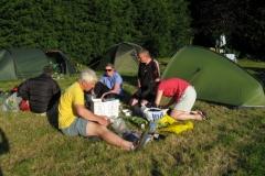 Preparing supper at Ranksborough