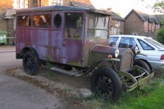 Ancient van