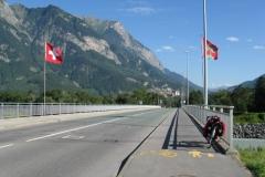 Lichtenstein border, R.Rhine - Balzers