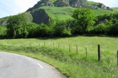 Start of Col d'Aubisque
