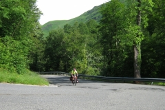 Bob on the Col d'Aubisque