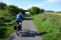 Riding towards Workington