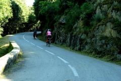 Climbing to Petreto