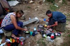 Free camping at Serra di Scopamine