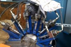 Multi rivetting tool
