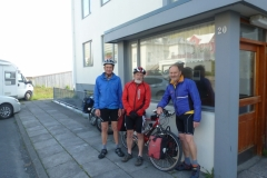 Peter, Bob and Tony in Isafjordur