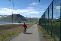 The school run - Isafjordur