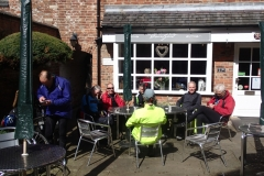 Lunch in Ashby de la Zouch
