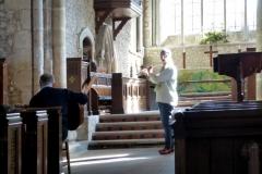 German musicians in Bosham Church