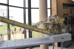 Meccano model of Pegasus Bridge