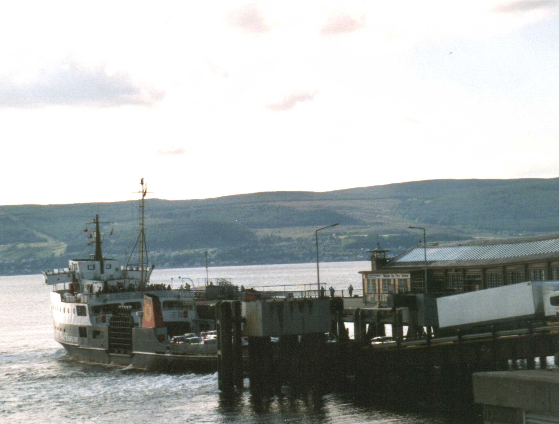 Bute ferry at Wemyss Bay
