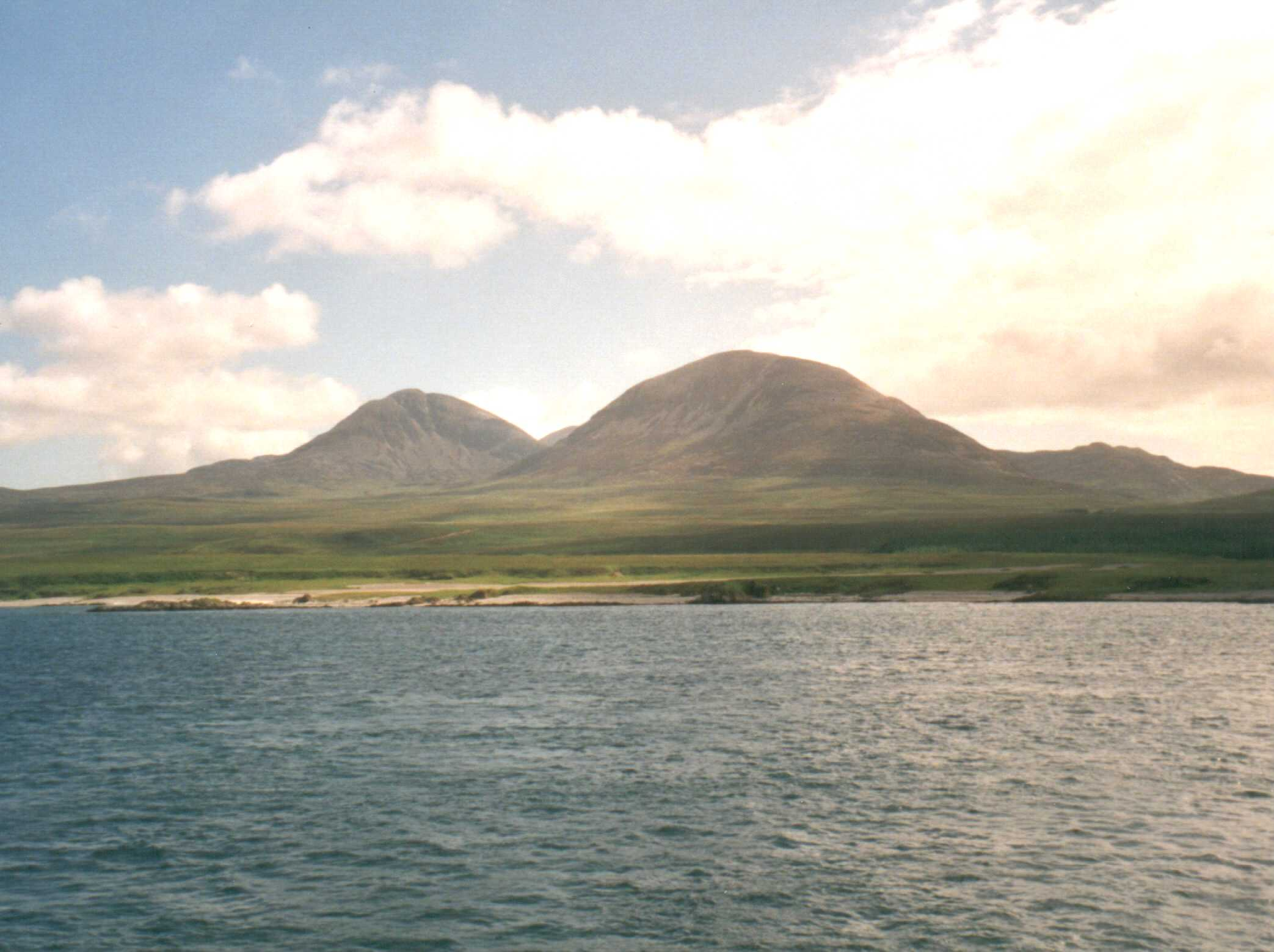 The Paps of Jura from the ferry