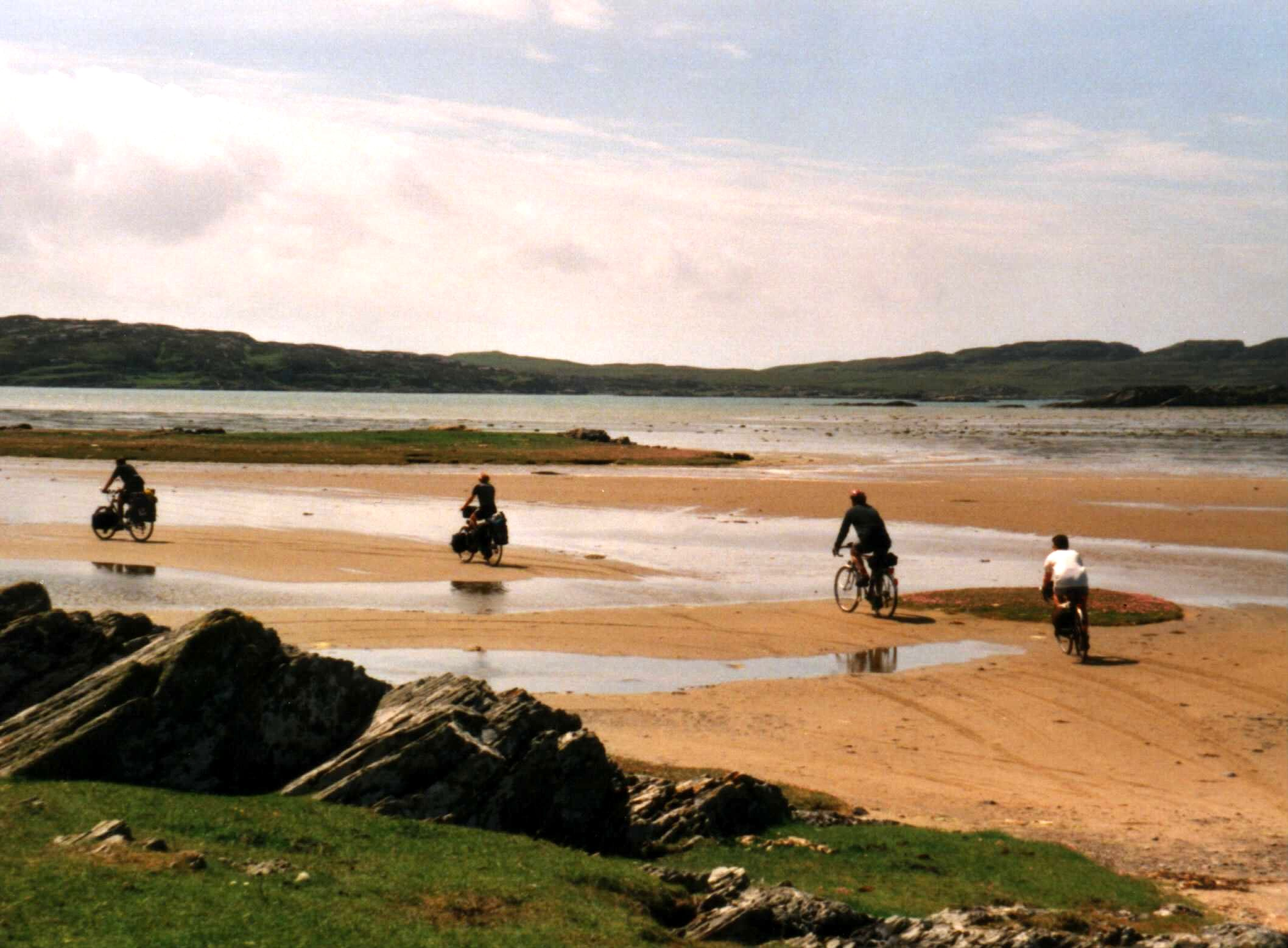 The 'road' to Oronsay