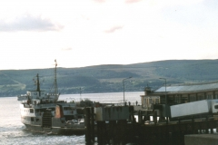 Bute ferry at Wemyss Bay