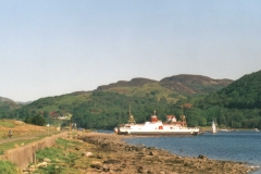 Collintraive ferry, north Bute