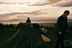 Camping at Kintra, islay